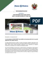 Cp Fr Ogc Nice Vogo Lancement Vogo Sport 2017 12.15 Vf