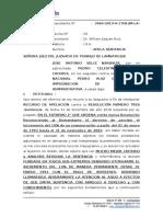 Expediente N° 3960 - 2019 - Fonavi 10% - Pedro Huarniz Caceres