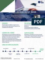 Silabo Microsoft Excel Avanzado 2019