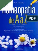 Homeopatia de A a Z - Alan V. Schmukler