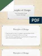 Principles of Design(1)
