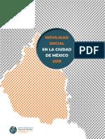 INFORME MOVILIDAD SOCIAL EN LA CDMX 2019