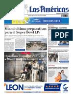 DIARIO LAS AMÉRICAS Edición digital del martes 21 de enero de 2020