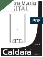 Caldaia Manual_Serie_X