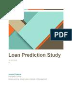 Janani Prakash Loan Prediction Study