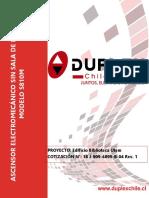 DUplex EDIFICIO BIBLIOTECA UTEM - CONSTRUCTORA PEUMA