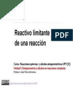 5-3 REACTIVO LIMITANTE DE REACCION