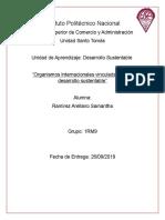 Organismos Internacionales vinculadas con el desarrollo sustentable.docx