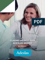 Cuadro Medico Basico Salamanca 2019