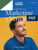 Esade - Folleto Executive Master en Marketing y Ventas