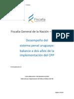 BALANCE DOS AÑOS CPP FISCALIA2019