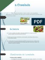 Historia de la ensalada