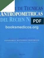 Manual de tecnicas antropometricas en el recien nacido