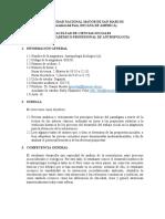 Silabo Antropología Ecológica 2017-II
