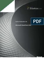 Guide d'%E9valuation de Share Point 2010