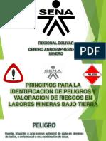 IDENTIFICACIÓN DE PELIGROS Y EVALUACIÓN Y VALORACIÓN DE RIESGOS