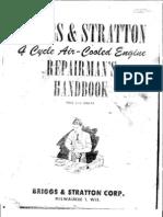 Briggs & Stratton Repairman's Handbook