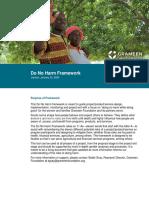 Do No Harm Framework_financial services