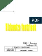 Hizkuntz Funtzioak (I)