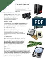 Hardware Interno Del Cpu