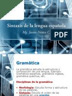 Sintaxis española-JNuñez