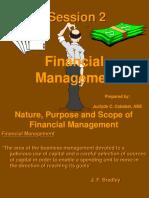 Financial Management-Session 2