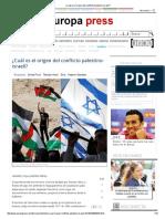 ¿Cuál Es El Origen Del Conflicto Palestino-Israelí