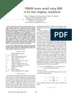 A flux-based PMSM motor model using RBF.pdf