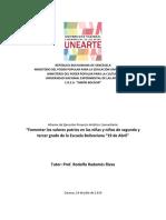 Informe ejecución de PAC