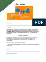 4.LECCION - LOS JUICIOS