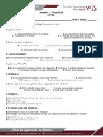 EXAMEN ARTES 1er TRIMESTRE.doc