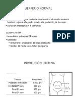 13.PUERPERIO Y LACTANCIA MATERNA