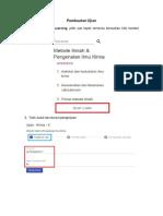 User Guide Ujian- Guru