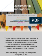 Kindergarten-Assessment