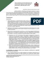 Resolución Del JEE de Lima Centro 1. Caso de Ricardo Santiago Vásquez.