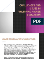 263883684-Challenges-and-Issues-in-Philippine-Higher-Education-Report-No-2.ppt