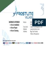 frostlite advertisement