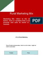 Rural Marketing Mix
