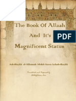 The Book of Allah and It's Magnificent Status