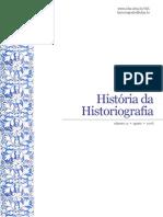 Revista Historia da Historiografia Nº 1