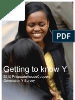 Pwc Generation y Brochure
