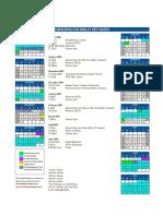 HZCIS Calendar 2020-21