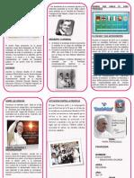 Triptico Papa Francis