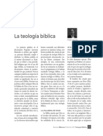 Articulos sobre Teologia Biblica