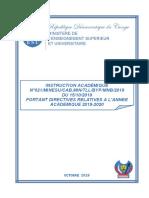 INSTRUCTION ACADEMIQUE 2019-2020 pdf