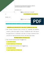 Granada Motion for Summary Dismissal
