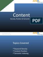 SEO Content Presentation