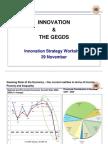 Innovation and the GEGDS - Innovation Strategy Workshop 29 November