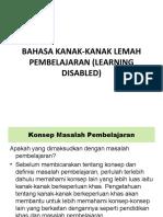 14554163 Bahasa Kanakkanak Lemah Pembelajaran Learning Disabled