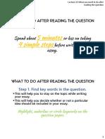 Essay Writing -Orgnization